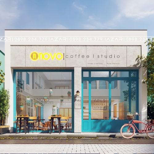 NOVO COFFEE _ Thiết kế & Thi công Quán Coffee đẹp Đà Nẵng